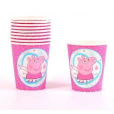 Paper Cups 10pcs, Peppa Pig