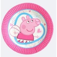 Paper Plates 18cm, 10pcs, Peppa Pig