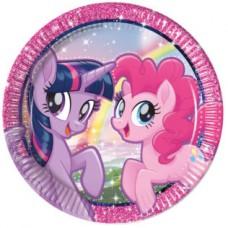 Plates Little Pony 23cm - 8 pcs