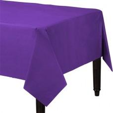 Table Cover Plastic New Purple 137 x 274 cm