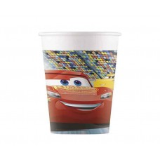 Paper cups Cars 3, 200 ml, 8 pcs
