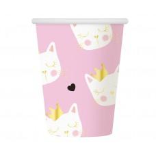Paper cups Cat, 270 ml, 6 pcs.