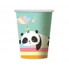 Paper cups Dreamy Panda, 266 ml, 6 pcs