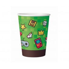 Paper cups Game On, 6 pcs.