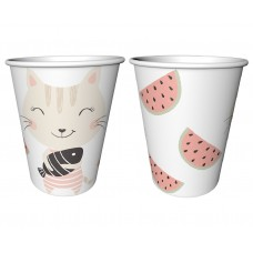 "Paper cups ""Lovely Friends"", 240 ml/ 6 pcs"