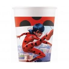 Paper cups Miraculous Zag, 200 ml, 8 pcs