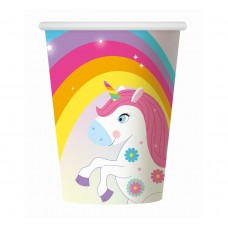 "Paper cups ""Rainbow Unicorn"", 6 pcs"