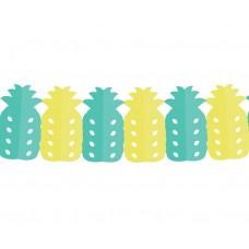 "Paper garland ""Sweet Pineapple"", size 360 x 11.5 x 20 cm, 1 pc"