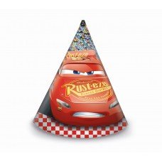 "Paper hats ""Cars 3"" , 6 items"