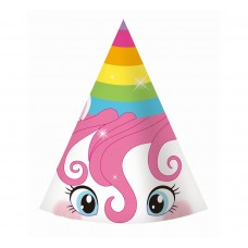 "Paper hats ""Rainbow Unicorn"", 6 pcs"