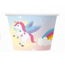 "Paper ice cups ""Rainbow Unicorn"", 6 pcs"