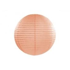 Paper lantern, light peach, 35cm