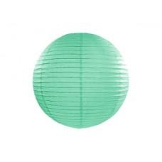 Paper lantern, mint, 35cm