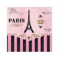"""Paper napkins """"A Day in Paris"""" , 25 cm, 16 pcs"""