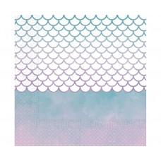 Paper napkins Elegant Mermaid, 33 x 33 cm, 20 pcs