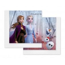 Paper napkins Frozen 2, 33x33 cm, 20 pcs