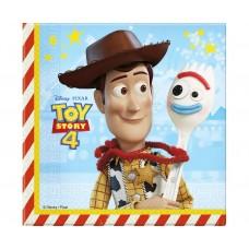 Paper napkins Toy Story 4, 33x33 cm, 20 pcs