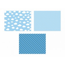 Paper placemats, mix, 40 x 30cm (1 pkt / 6 pc.)