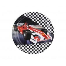 Paper plates FORMULA, 18 cm, 6 pcs