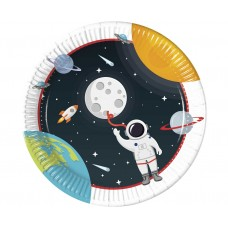 Paper plates Outer Space, 23 cm, 8 pcs