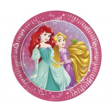 Paper plates Princess Day Dream, 20 cm, 8 pcs