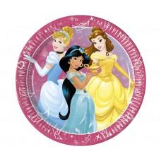 Paper plates Princess Day Dream, 23 cm, 8 pcs