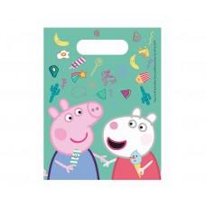 Party bags Peppa Pig, 6 pcs