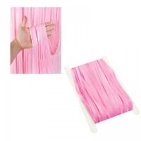 Party curtain, pastel pink macaron - 2m x 1m
