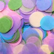 Pastel colors Paper Confetti 100gr