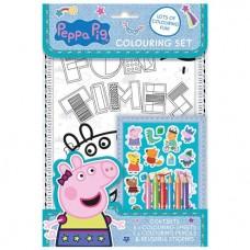 Peppa Pig Colouring Set