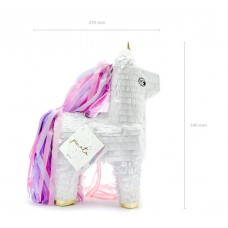 Pinata - Unicorn, 24.5x34x9cm