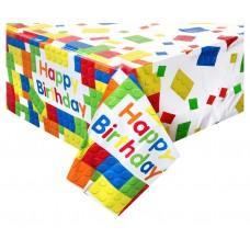 Plastic Tablecover Building Blocks