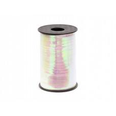 Plastic ribbon, iridescent, 5mm/225m