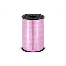 Plastic ribbon, pink, 5mm/225m