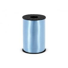 Plastic ribbon, sky-blue, 5mm/225m