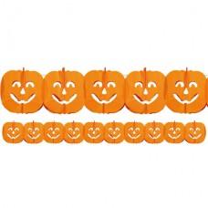 Pumpkin Paper Garland - 4m