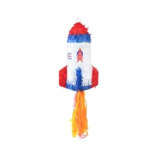 Rocket Pinata, size 40x27x27 cm