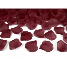 Rose petals in a bag, deep red  (1 pkt / 100 pc.)