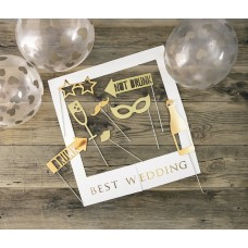 Selfie photo frame kit - Best Wedding