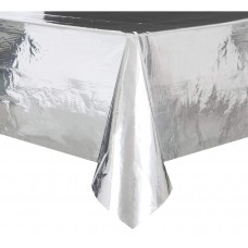 Silver foil table cover, 137x274см