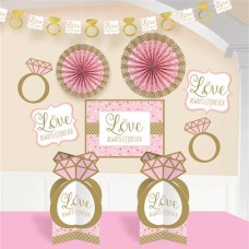 Sparkling Wedding Room Decoration Kit 10pcs