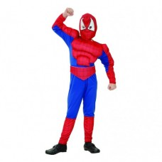 Spider Hero, size 120/130 (with muscles)