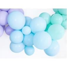 Strong Balloons 12cm, Pastel Light Blue 1pc