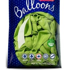 Strong Balloons 12cm, Pastel Bright Green 1pc