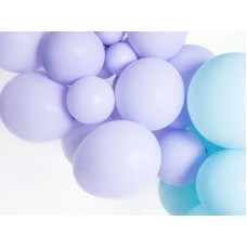Strong Balloons 12cm, Pastel Light Lilac 1pc