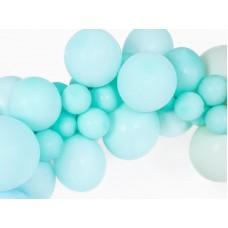 Strong Balloons 12cm, Pastel Light Mint 1pc