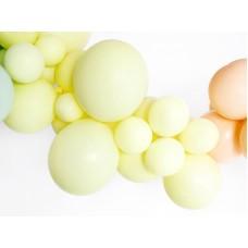 Strong Balloons 12cm, Pastel Light Yellow 1pc