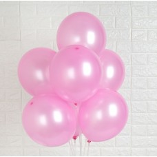 Strong Balloons 27cm, Metallic Candy Pink (1 pkt / 10 pc.)
