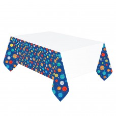 Tablecover Blast Off Plastic 137 x 243 cm