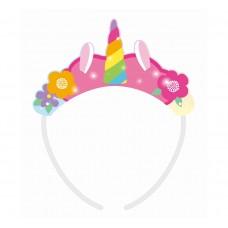"Tiara ""Rainbow Unicorn"", 4 pcs"